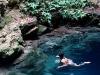 03 Eli nadando en Cenotillo