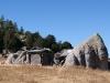 Casa tarahumara aprovechando roca
