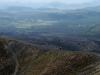 La vista desde el volcán Paricutín