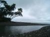 30. Union de un rio en la playa de Carate