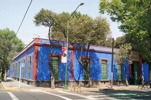 17. Fachada museo de Frida Kahlo