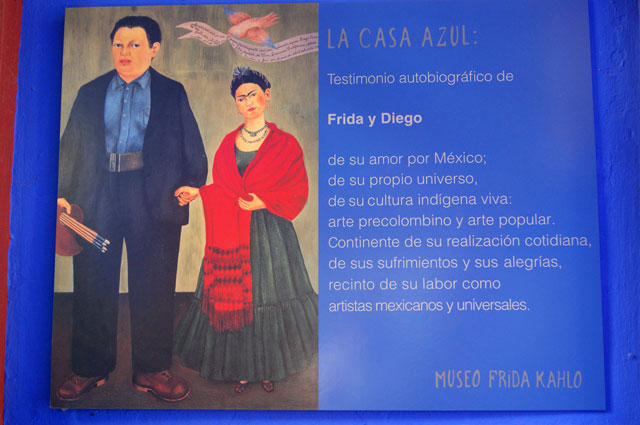 19. Un cartel del museo
