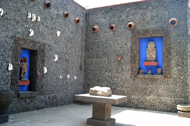 20. Patio de la casa de Frida