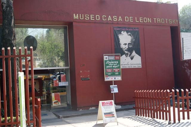 25. Fachada museo de Trotsky