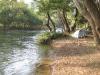 01.Acampando junto al rio