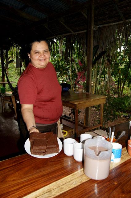 19 Brownie de chocolate organico