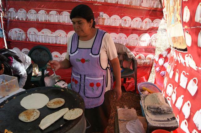 Tortillitas hechas a mano