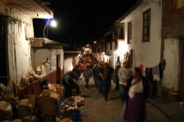 Una calle de Jarácuaro