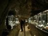 Museo de minerales y piedras preciosas, adentro de la mina